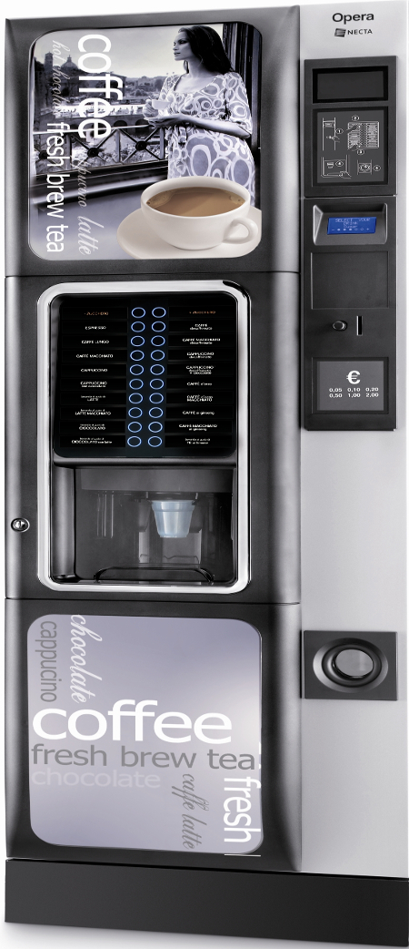 Necta Opera Hot Drinks Machine