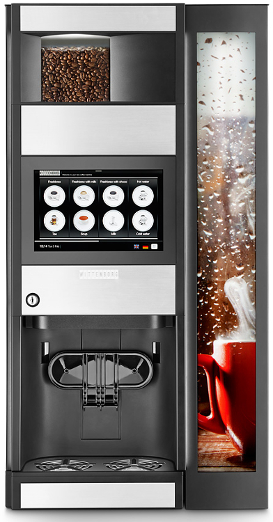 Wittenborg 9100 bean to cup coffee machine