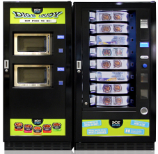 easy 6000 food vending machine with microwave